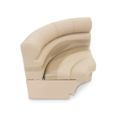 LCI Platinum Radius Corner Pontoon Seat