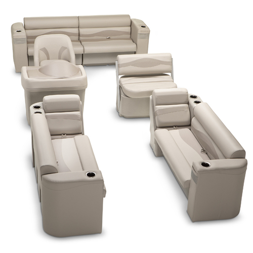 LCI Platinum Premium Pontoon Seating Kit Beige