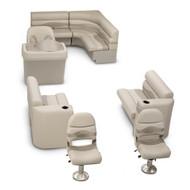 LCI Platinum Deluxe Fishing Pontoon Seating Kit Beige