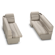 LCI Platinum Bench & Chaise Pontoon Seating Kit Beige