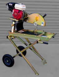 Australian made high quality BT Bricksaw with Petrol GX200 motor and cyclone air filter.