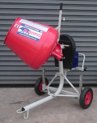 Brickstorm Bushpig 3.6 Cement mixer. A TOUGH AS BUSHPIG, NO FRILLS MIXER AT A NO FRILLS PRICE !