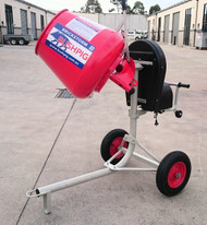 Brickstorm Bushpig 2.3 Cement mixer. (Electric model shown) A TOUGH AS BUSHPIG, NO FRILLS MIXER AT A NO FRILLS PRICE !