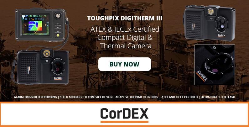 CorDEX TOUGHPIX III TP3rEx Digitherm