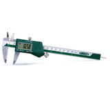 """ELECTRONIC CALIPER WITH ROUND DEPTH BAR, 0-6""""/0-150mm"""