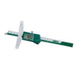 "ELECTRONIC DEPTH GAGE, 0-8""/0-200mm"