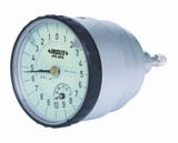 "BACK PLUNGER TYPE DIAL INDICATOR, .2 "", graduation .001"""