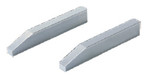 GAGE BLOCK ACCESSORY, plain jaw, pair