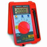 Triplett 2030-C Pocket-Sized Autoranging Digital Multimeter, 37 Measurement R...