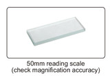 "50mm/1.97"" reading scale"