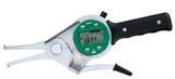 "INSIZE ELECTRONIC INTERNAL CALIPER GAGE, 1.4-2.2""/35-55mm, resolution .0005""/0.01mm"