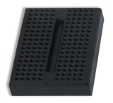 Global Specialties GS-170-0 Solderless Breadboard, 170 Tie-Points, Black