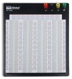 Global Specialties PB-104M Externally Powered, 3220 Tie-point Breadboard