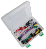 Global Specialties WK-6 Jumper Wire Kit, 112 pcs., w/ Pressed Pins