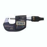 "Mitutoyo 293-130-10 MDH High-accuracy Sub-Micron Micrometer 0-1"" with SPC Cable, USB Input Tool"