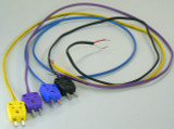 Piecal 020-0202 Thermocouple Wire Kit 1 Types J, T E & K