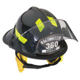 MSA 1010FSR Fire Helmet, 1010, Fs, Red, Std