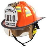 MSA 660CFSO Fire Helmet, 660C, Fs, Orange, Std