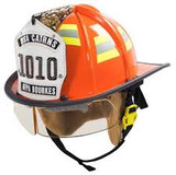 MSA 660CXDR Helmet,660C,Fire, Ess Goggle, Red, Std