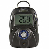 MACURCO MP100-HF-10 Single Gas Detector, HF, Black, LCD