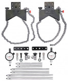 Starrett S668DZ Shaft Alignment Clamp Set With Fitted Case