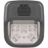 "MACURCO HS-C Horn Strobe Alarm, 4-3/4"" L, 2"" W, LED"