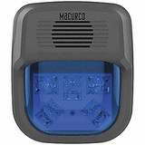 "MACURCO HS-A Horn Strobe Alarm, 4-3/4"" L, 2"" W, LED"
