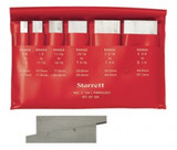 "Starrett S154LZ Adjustable Parallels Set, 3/8"" - 2-1/4"" Range, 1-3/4"" - 5-1/16"" Length (6 Pieces)"