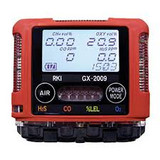 RKI 72-RB-C GX-3R LEL / O2 / H2S / CO with Li-Ion battery pack and 100-240 VAC charger