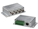 Triplett TRB-4BNCSTRJ45 Transceiver Box -- 4 Position, 4 BNC Jacks to Screw Terminal or RJ45