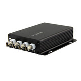 Triplett HDMP-1X4 5MP High Performance Multiplexer -- 4 HD-TVI signals over 1 Coax, 300 feet. PAIR