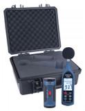 REED Instruments.  SOUND LEVEL METER DATA LOGGER & CALIBRATOR KIT