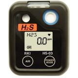 RKI Instruments 73-0062  03 Series H2S Single Gas Monitor