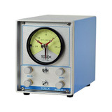 Nidec. Air Gauge Display with Dual Channel, Dual Needle Analog Gauge Dial, 200, 100 or 50 Micron Range MD-24L