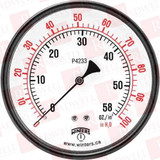 """Winters. LOW PRESSURE 6"""" 0-100""""H20/OZ 1/4 SS BTM  PLP4323"""