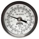 "Winters. 5"" DIAL  36"" STEM BACK  THERMOMETER  TBM50360"
