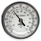 "Winters. 6"" DIAL  30"" STEM  BTM  THERMOMETER  TBM61300"