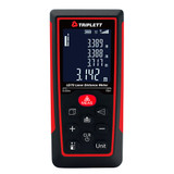 "Triplett LD70 Laser Distance Meter, 225 ft. (70 m) max. with a 0.125"" (3 mm) Accuracy"