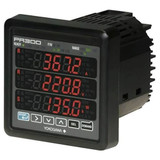 Yokogawa PR300-422006A0/S02 3-Phase 4-Wire Power Monitor, 150V/300V/600V/5AAC, Digital Input/Pulse Output, RS-485, A/B/C, 400 Hz