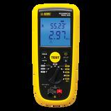 AEMC 6529 (2126.55) Digital Megohmmeter, 50V, 100V, 250V, 500V, 1000V, 420k-Ohm, V, Continuity, Alarm and Timer, PI/DAR