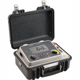Megger 1004-919 DLRO100XB LG2-P3 Digital Low Resistance Ohmmeter, 100A, Battery & Mains Powered with Dual Ground, Memory Storage and USB Download + US (NEMA) Mains Plug