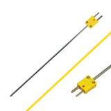 """Thermocouple - Needle, 7.25"""" x 0.5"""" K Type, -58° to 1292° F (for use with Models SLII L642 & CA863)"""
