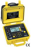 Megohmmeter Model 1060 (Digital, Analog Bargraph, Alarm, Timer, 50V, 100V, 250V, 500V, 1000V, Auto DAR/PI, Res., Continuity, RS-232 w/DataView ®  Software, 128kB Memory)