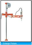 Mountz 260084 EZ-100R Articulated Torque Arm