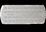 Starrett 286 DRILL & STEEL WIRE GAGE- #61-80