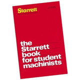 Starrett 1700 STUDENT BOOK FOR STUDENT MACHINISTS