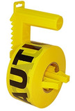 U.S. Tape  16930SF  Caution Tape (Fr), 300'  2 mil  BARRICADE TAPE and DISPENSERS
