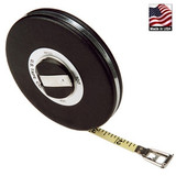 """U.S. Tape  58516  LONG TAPES  Chrome blade  ft/in/8ths 3/8"""" x 25'"""