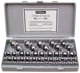 Fowler 52-438-777-0 50PC GAGE BALL SET MM