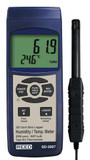 REED Instruments SD-3007 THERMO-HYGROMETER W/ TYPE K THERMOCOUPLE, DATA LOGGER